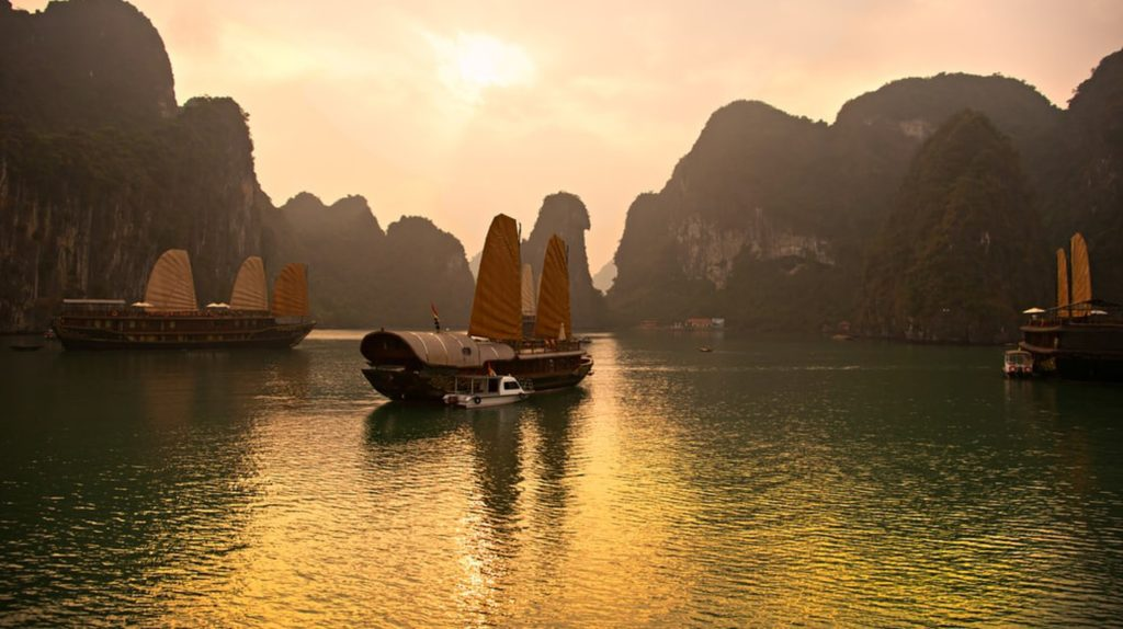 Halongbay 1024x574 Beautiful Places to Visit in Vietnam Travel with locals