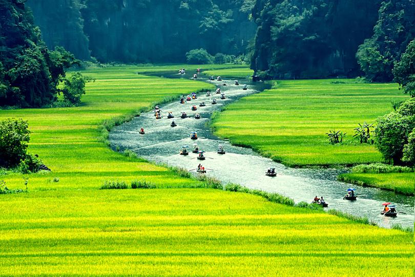 Tam coc Ninh Binh 8211 Halong Bay Tour 4 Days from Hanoi
