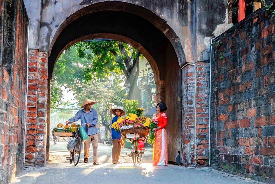 old relics Hanoi