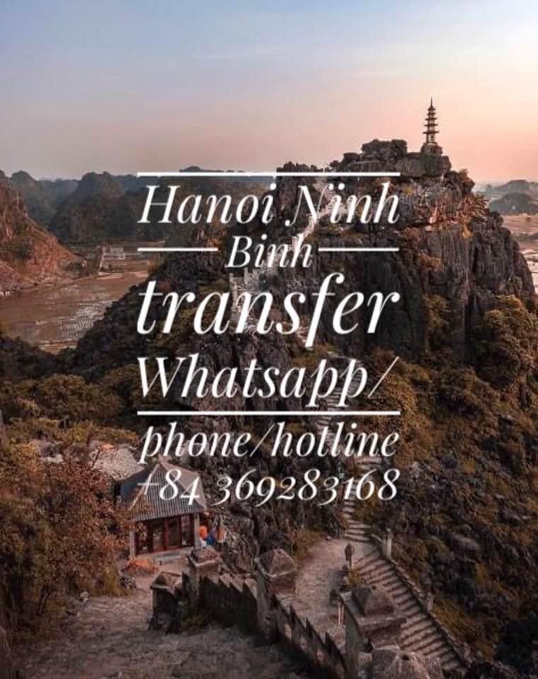 Hanoininhbinh Hanoi to Ninh Binh private transfer