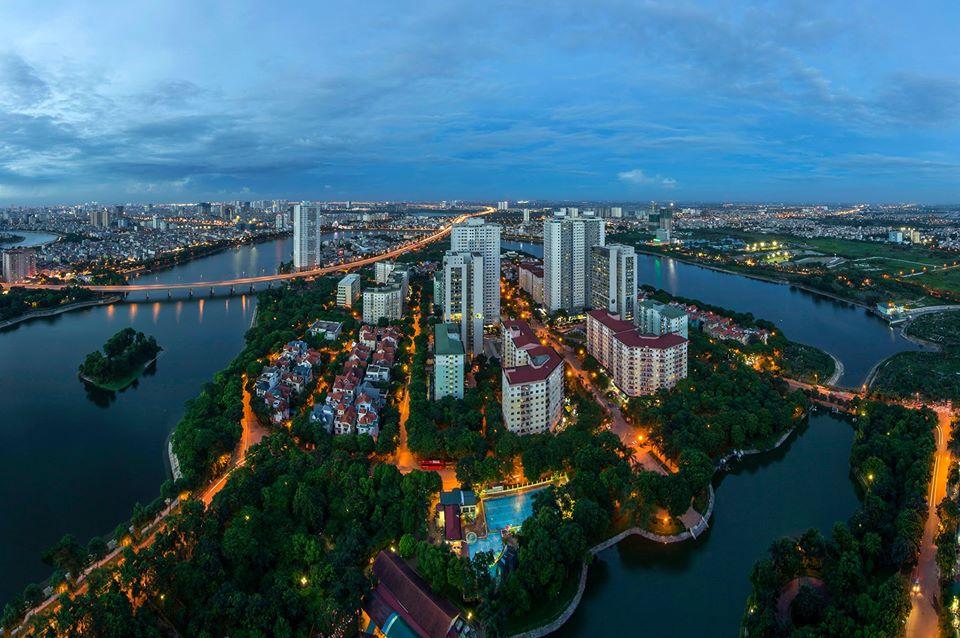 Hanoi from above