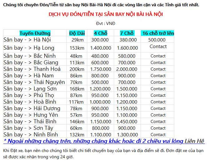 Screenshot 2020 05 26 n Ti n S n Bay N i B i Airport transfer Thu xe ri ng i N i B i 2 chi u gi r