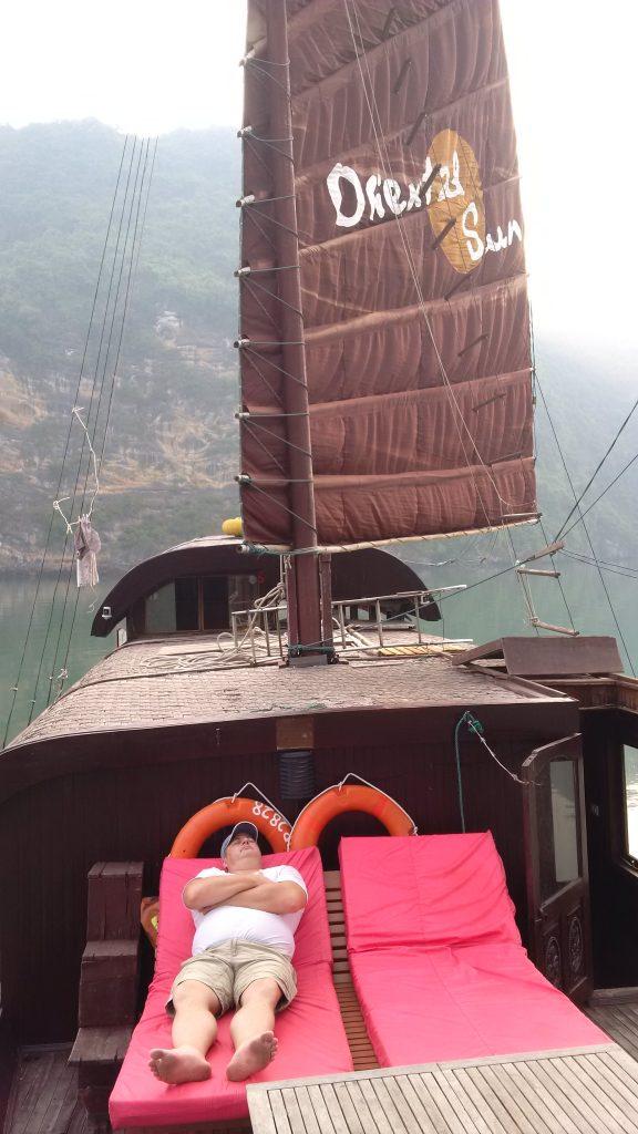 Halong Bay Cat Ba boat trip 576x1024 5 day tour around North Vietnam Off the beaten track