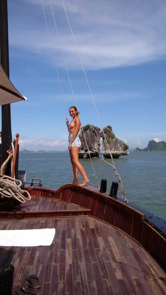 Halong Bay trip from Hanoi 576x1024 What to see in Hanoi with Local Guide