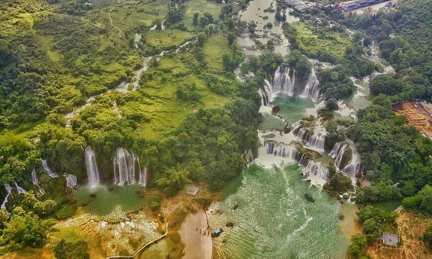 Bang gioc falls Off track colorful Northern Vietnam 16 Days