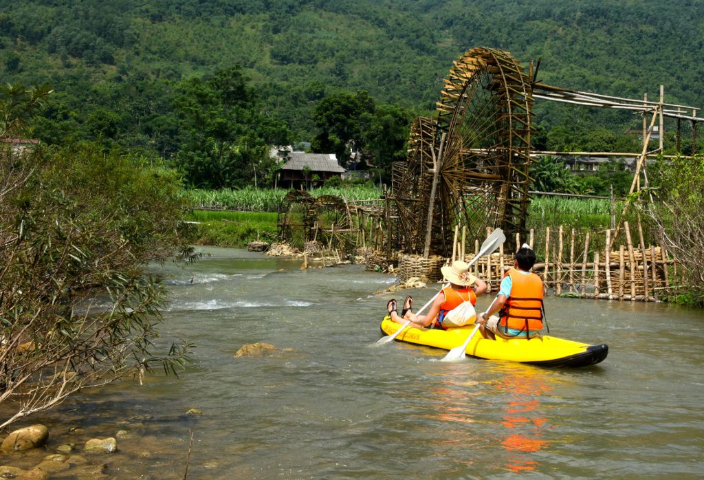 Kayaking in pu luong Things to do in Pu Luong Travel Guide